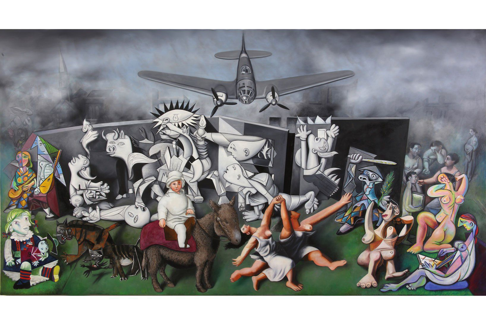 ron-english-guernica-allouche-gallery-4