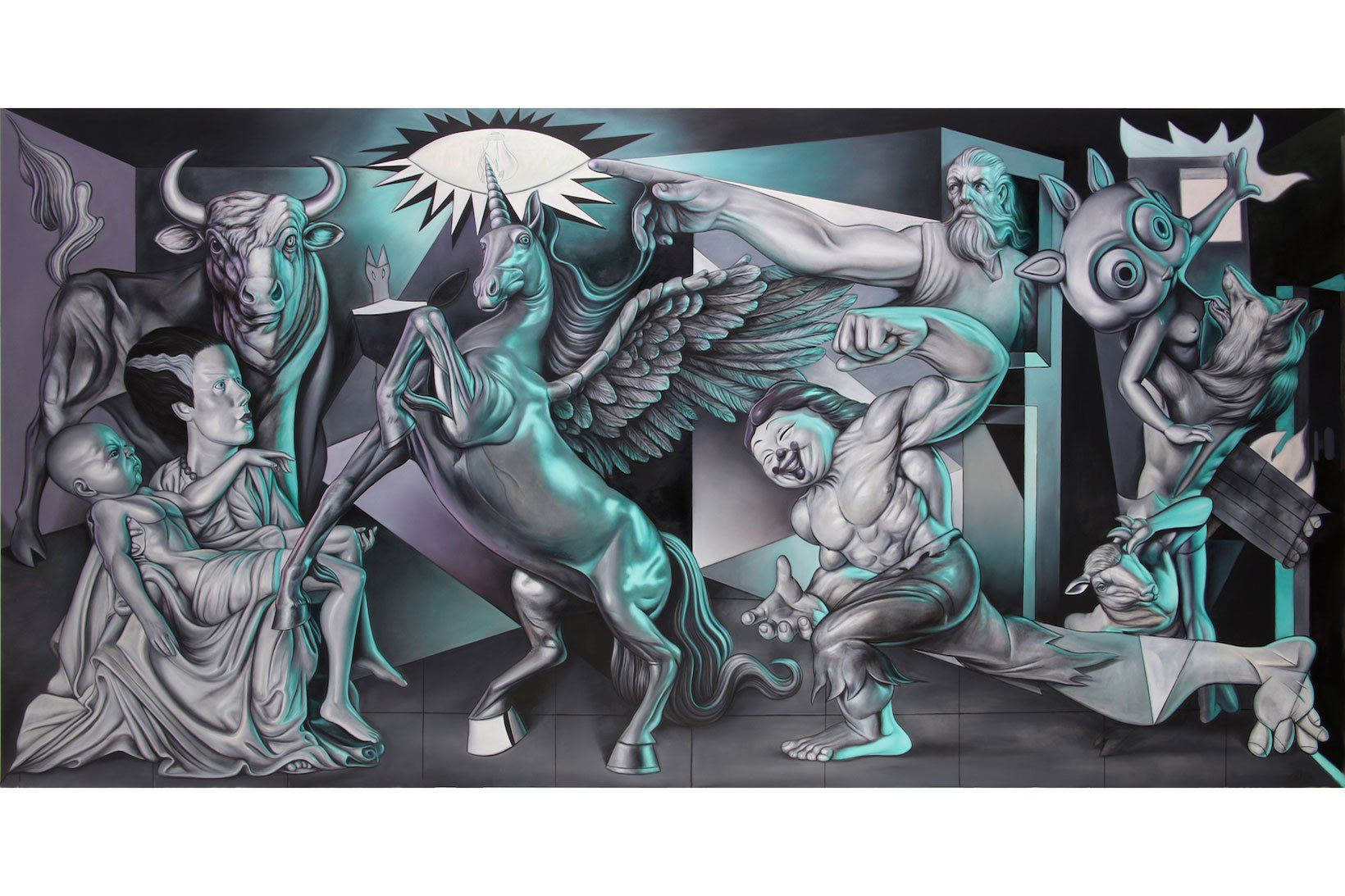 ron-english-guernica-allouche-gallery-6