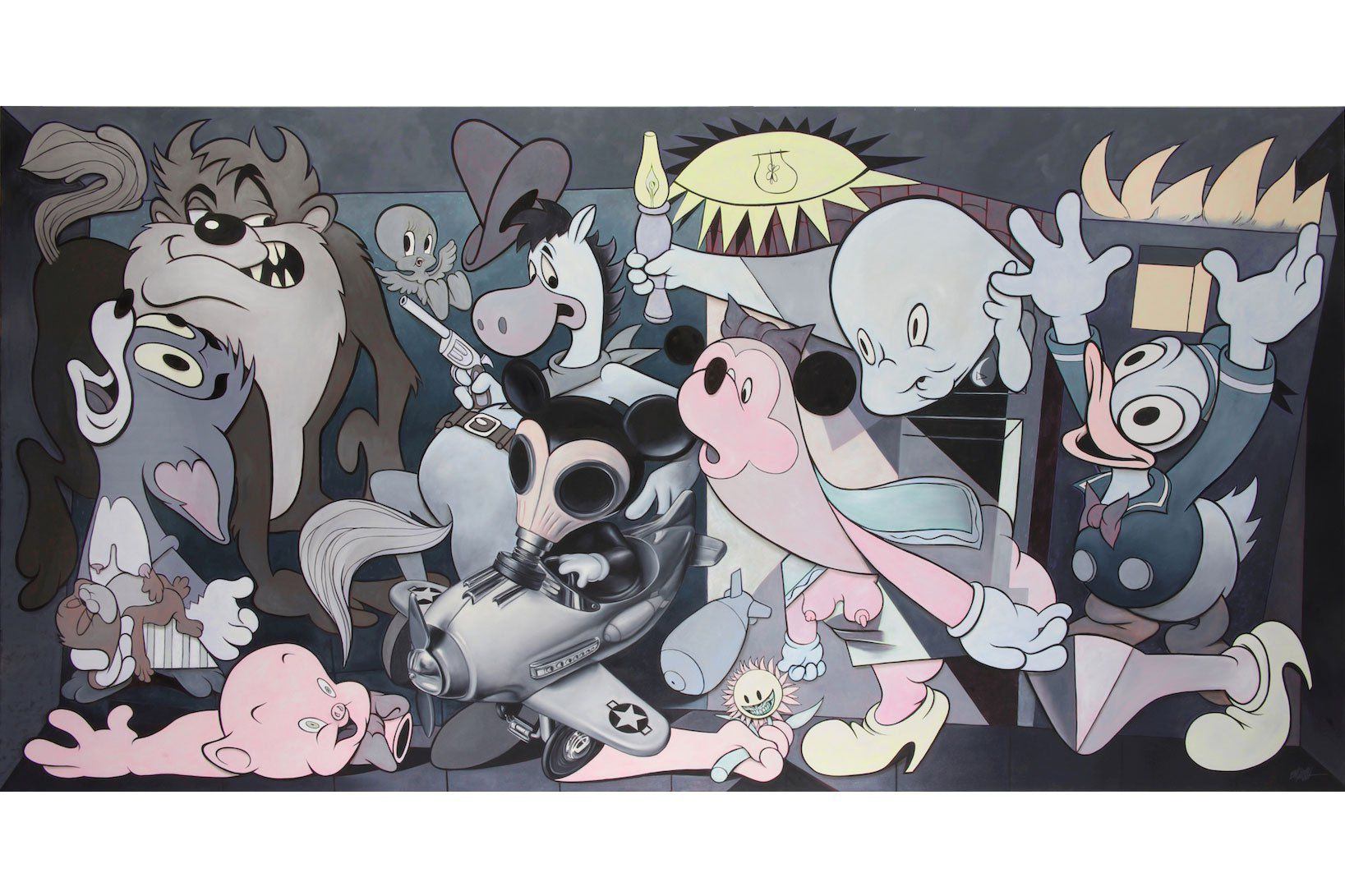 ron-english-guernica-allouche-gallery-8