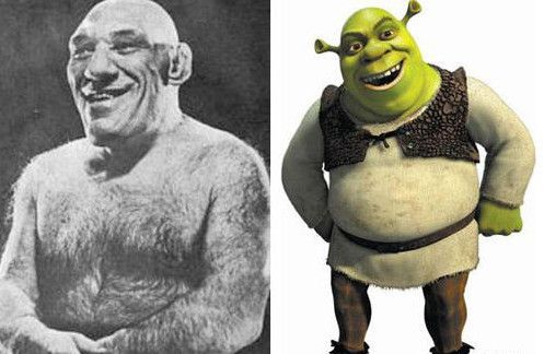 real-cartoon-shrek