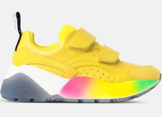 Eclypse Yellow Sneakers